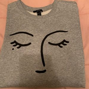 Resting Face sweater